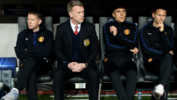 David Moyes Manchester United Champions League