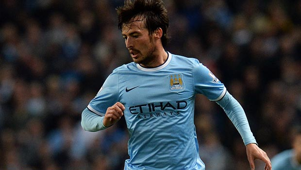 David Silva Manchester City ankle injury