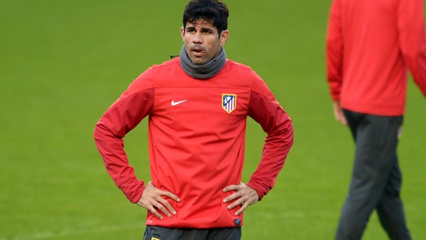 Diego Costa Atletico Madrid v Chelsea