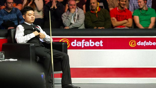 Ding Junhui the Dafabet World Snooker Championship