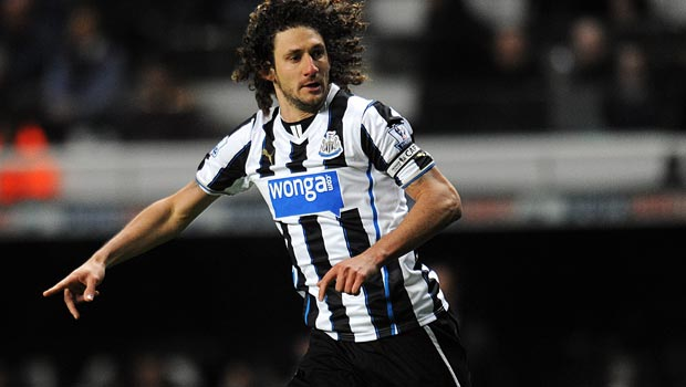 Fabricio Coloccini Newcastle United