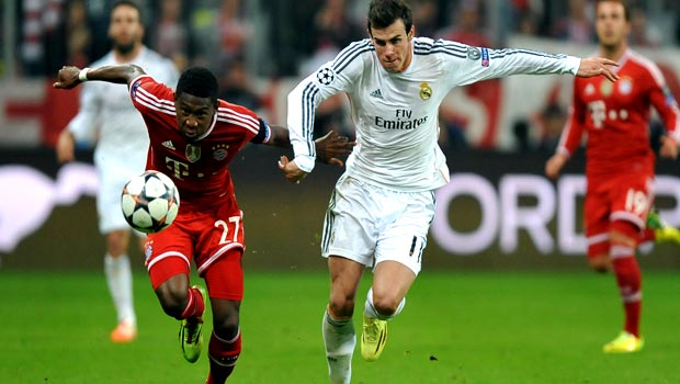 Gareth Bale Real Madrid v bayern Munich