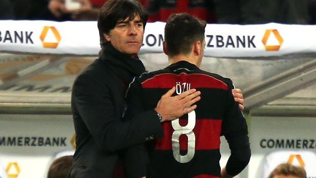 Joachim Low Germany World Cup Mesut Ozil