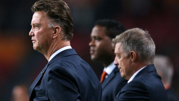 Louis van Gaal as Manchester United Manager
