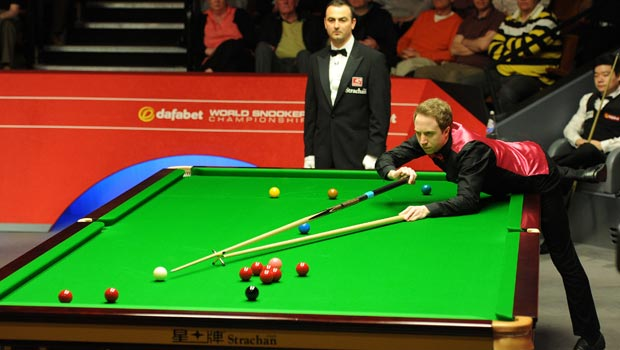 Michael Wasley and Ding Junhui Dafabet World Snooker Championships