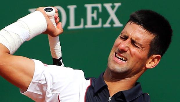 Novak Djokovic Injury hits French Open hopes