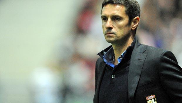 Remi Garde Lyon boss