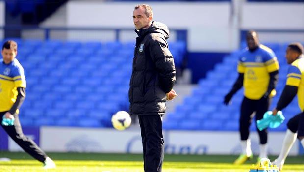 Roberto Martinez Everton boss football premier league