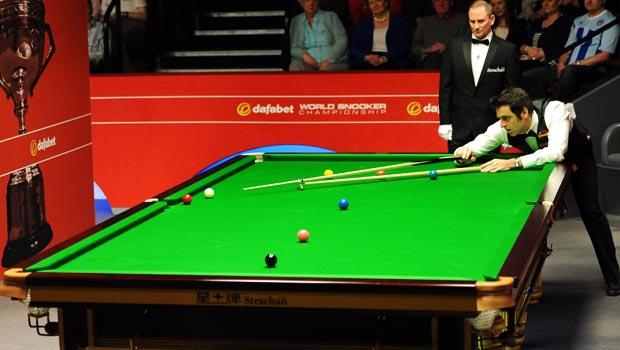 Ronnie O'Sullivan Dafabet World Snooker Championships 2014