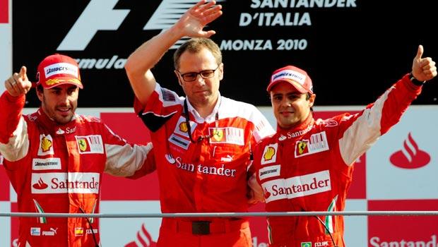 Stefano Domenicali Ferrari chief
