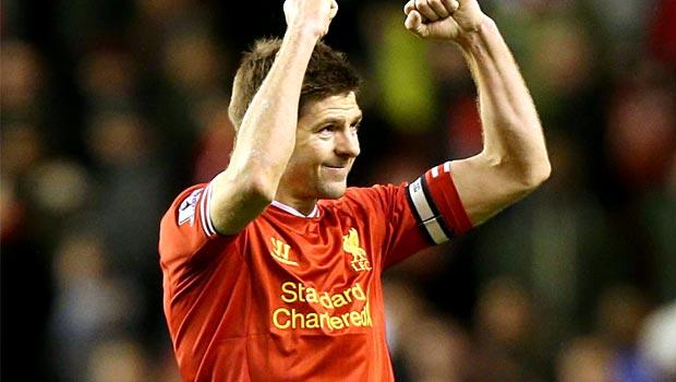 Steven Gerrard Liverpool footballer