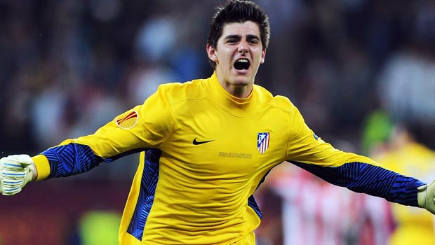 Thibaut Courtois Chlesea and Atlrtico Madrid Goal Keeper