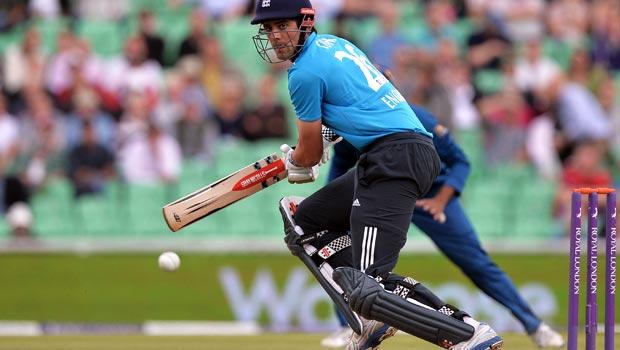 Alastair Cook England ODI Series