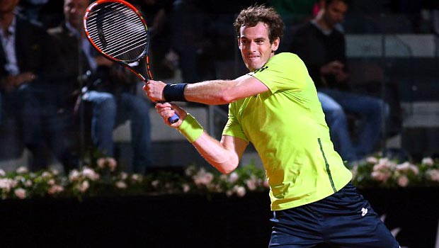 Andy Murray Italian Open 2014 Tennis