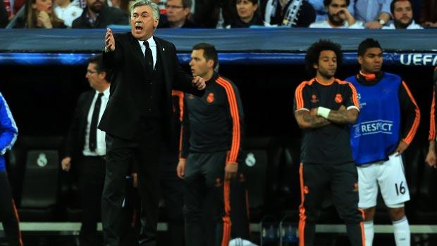 Carlo Ancelotti Real Madrid  wants three victories