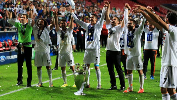 Cristiano Ronaldo Real Madrid wins Champions League