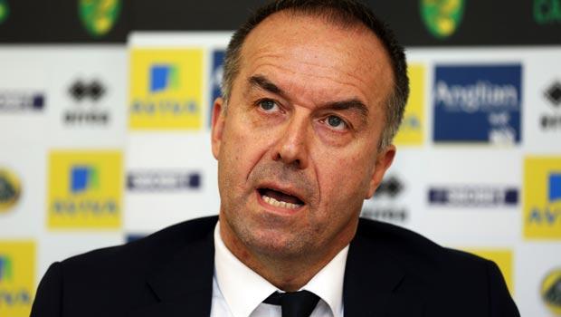 David McNally Norwich City Chief Executive