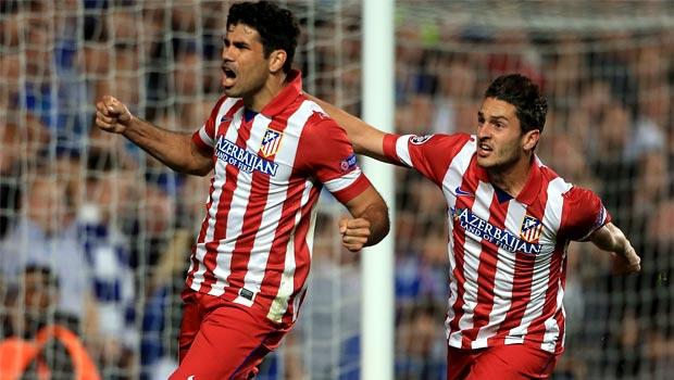 striker Diego Costa Atletico Madrid striker