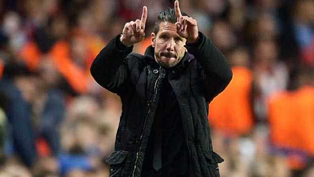Diego Simeone Atletico Madrid coach