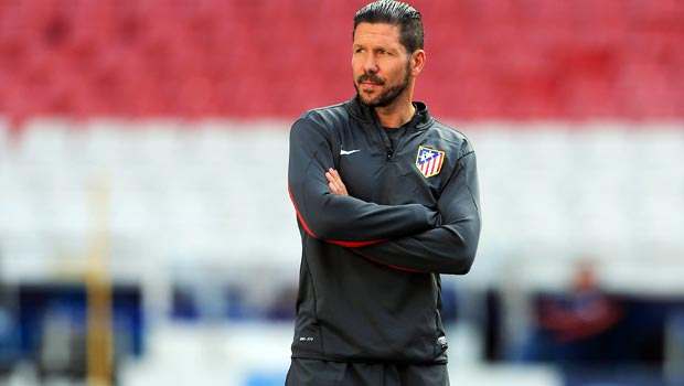 Diego Simeone Atletico Madrid coach Champions league