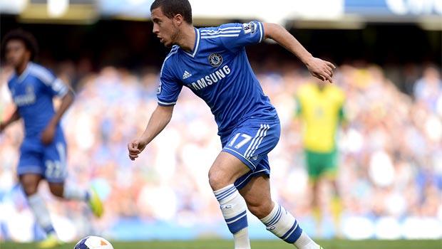 Eden Hazard Chelsea winger