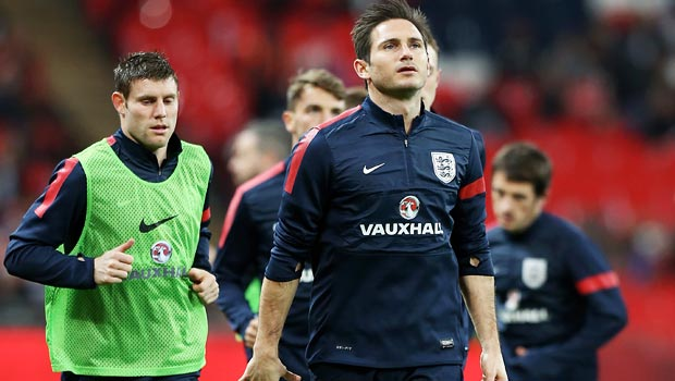 Frank Lampard England vice-captain World Cup 2014