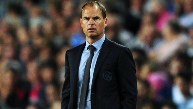 Frank de Boer Ajax manager on Tottenham