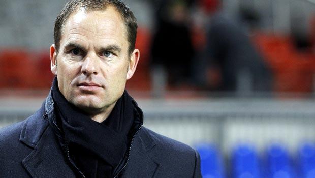 Frank de Boer Ajax manager wants Premier League