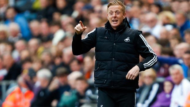 Garry Monk Swansea Manager