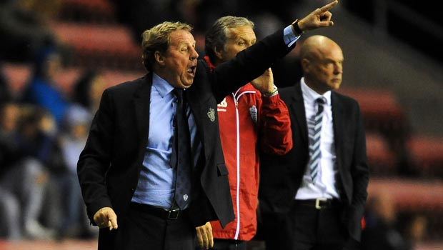 Harry Redknapp Queens Park Rangers Manager