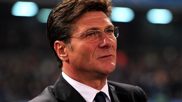 Inter Milan boss Walter Mazzarri