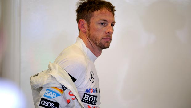 Jenson Button McLaren driver