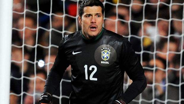 Julio Cesar Brazil goalkeeper