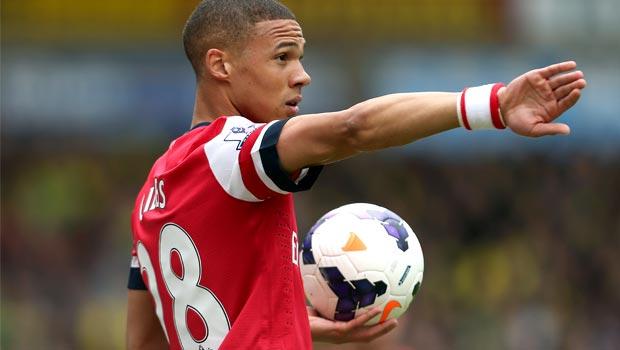 Kieran Gibbs Arsenal defender football