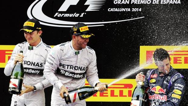 Lewis Hamilton of Mercedes Spanish F1 Grand Prix Winner