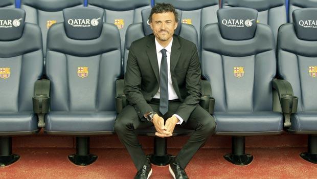 Luis Enrique New Barcelona head coach