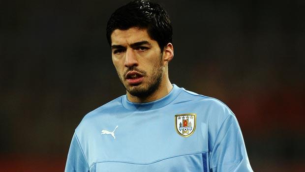 Luis Suarez Uruguay Striker