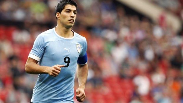 Luis Suarez Uruguay World Cup 2014