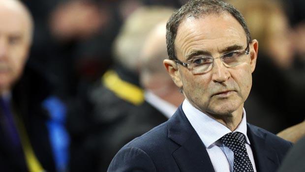 Martin O'Neill Republic of Ireland manager