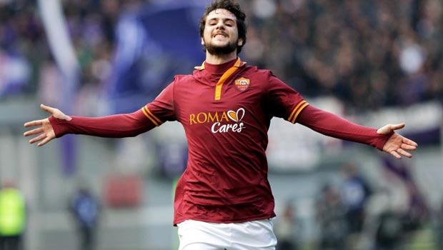 Mattia Destro Roma Serie A