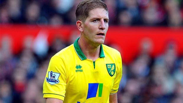 Michael Turner Norwich defender football
