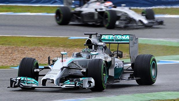 Nico Rosberg Mercedes driver Spanish Grand Prix