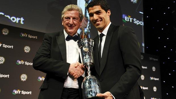 PFA player of the year award Luis Suarez Liverpool
