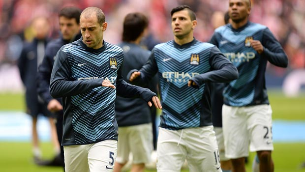 Pablo Zabaleta Manchester City no room for complacency
