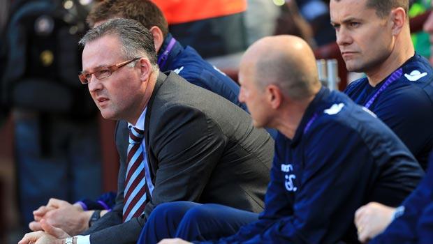 Paul Lambert Aston Villa manager