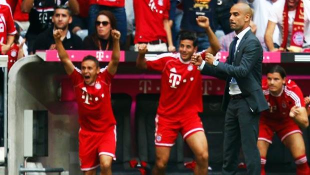 Pep Guardiola Bayern Munich DFB-Pokal