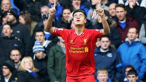 Philippe Coutinho brazil world cup 2014