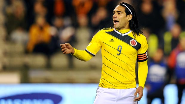Radamel Falcao Colombia World Cup
