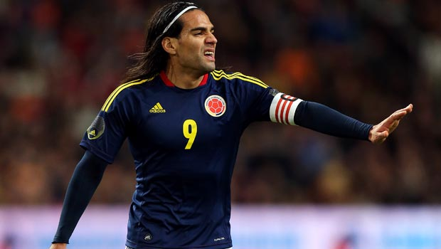 Radamel Falcao Colombia will miss the world cup