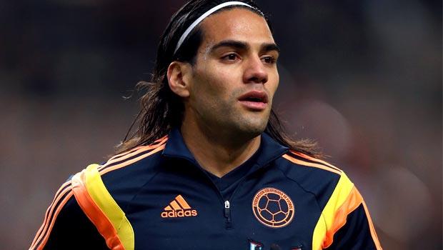 Radamel Falcao footballer Colombia World Cup